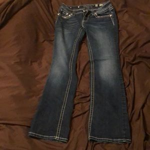 Miss Me boot cut size 30 jeans
